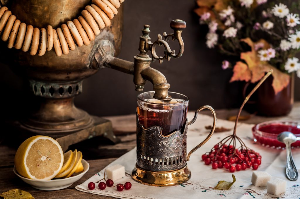 Healthy Drink for the Winter - Russian Tea